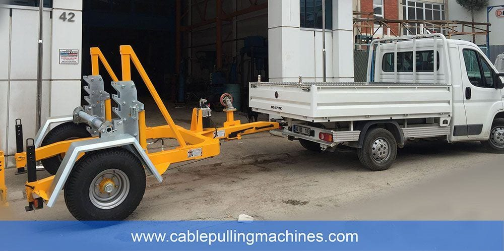 - Hydraulic Cable Drum Trailers 7 TON