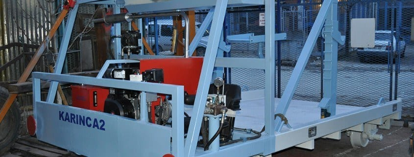 - Cable Laying Machines With Rail System