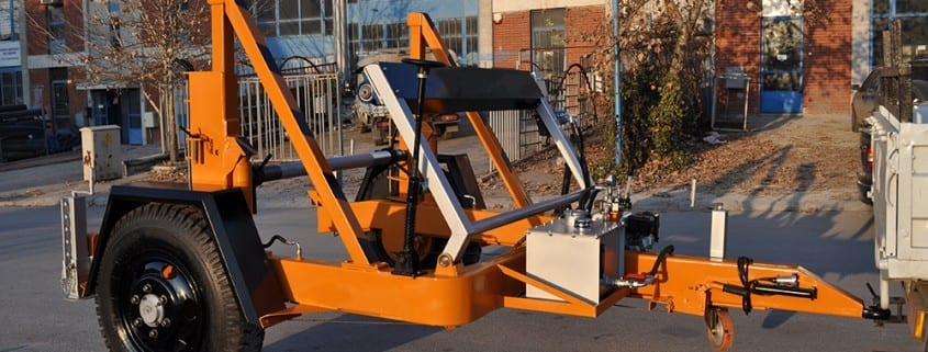 - Full Hydraulic Cable Drum Trailers AUTO7