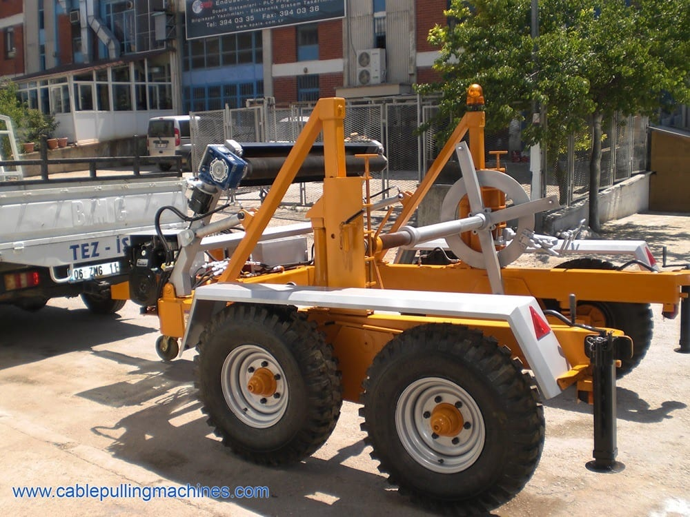 - Full Hydraulic Cable Drum Trailers AUTO10