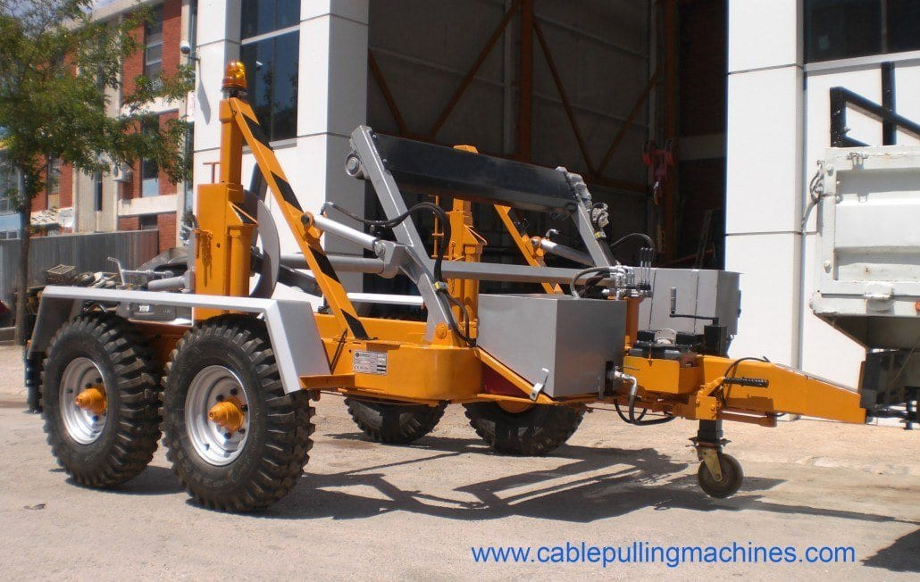 - Full Hydraulic Cable Drum Trailers AUTO30
