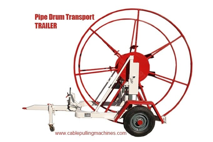 - Pipe Drum Transport Trailers