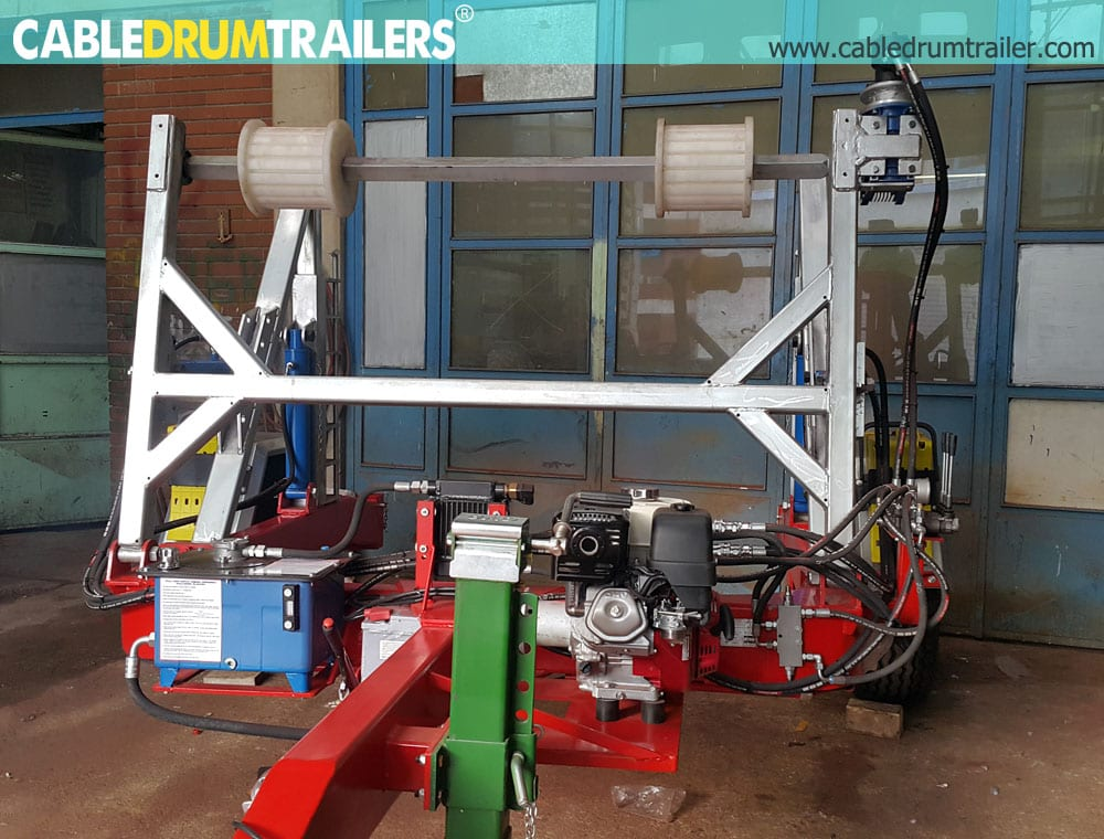 - Full Hydraulic Cable Drum Trailers AUTO4